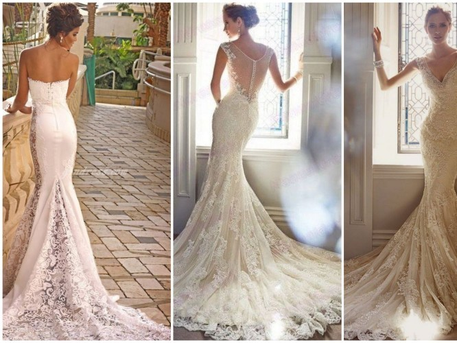 Blog Zawsze Modna I Niezwykle Kobieca Suknia ślubna Typu Syrena